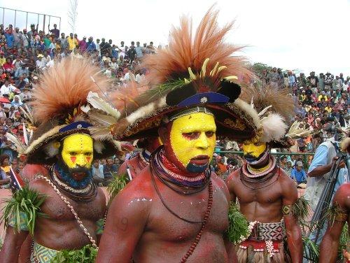tocados de nueva guinea papua