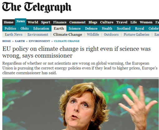 connie-hedegaard-science-wrong