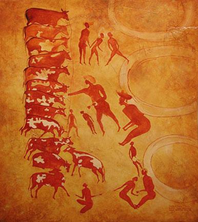 vacas-neoliticas-en-el-sahara