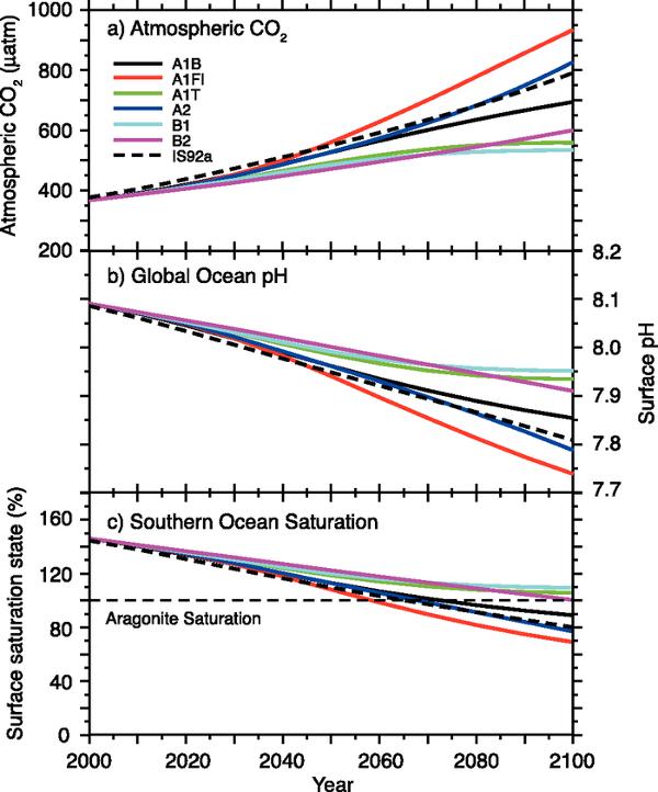 ipcc-acidificación-mar-a-2100